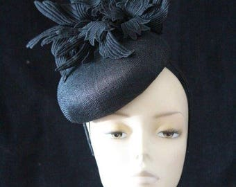 Stylish Black Fascinator
