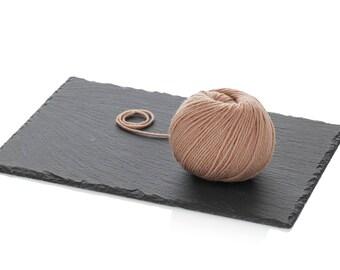Tan Superwash Soft Merino Yarn - Light Worsted Merino Yarn - Dark Beige Wool Yarn DK -  Knitting Yarn 8-ply - Dark Beige Crochet Yarn