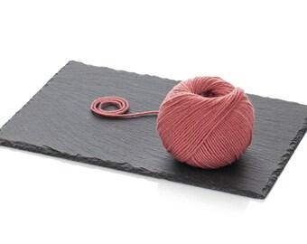 Rose Pink Merino Yarn DK - Light Worsted Yarn - Pink Wool Yarn DK - Superwash Soft Merino Yarn - Knitting Yarn 8-ply - Crochet Wool Yarn DK