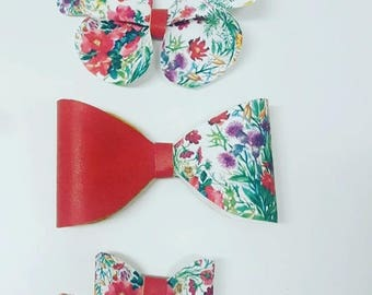 Floral clips