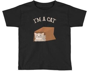 I'm a Cat Kids Short Sleeve T-Shirt