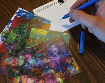 Sam and Emily's Postcards, charity postcards, children's art fundraiser 5 pack