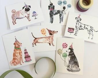 Birthday Card Assortment (6 cards)