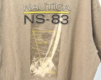 Vintage 90s Double Sided Nautica Tee - XL