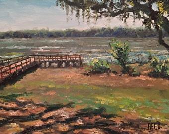 Plein Air Oil Painting Florida