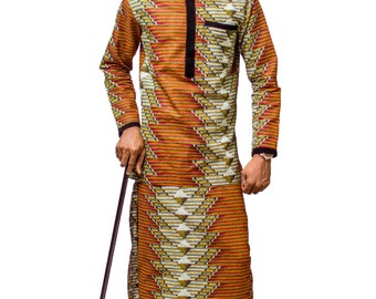 African Mens Clothing, African Mens Suit, African Men's outfit, Traditional outfits, African Mens wear, Mens Clothing, Ankara Mens wear
