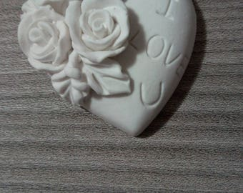 Scented Chalk Heart