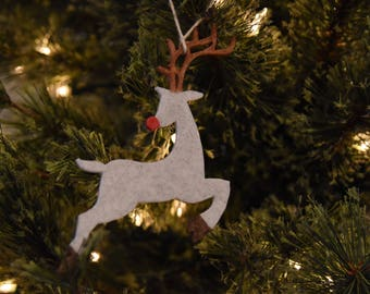 3D Printed Flying Reindeer Ornament
