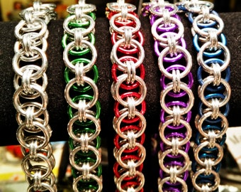 Helms Chain - Chainmaille - Chain Mail Jewelry Bracelet