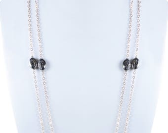 925 Long Chain Silver Necklace