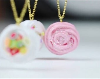 "Clay ""slime club"" necklace"