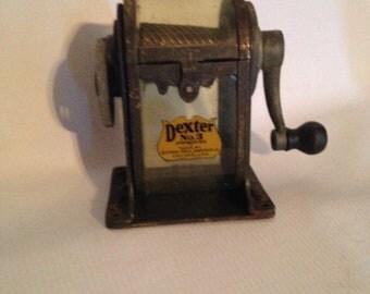 Vintage Dexter No. 3 Pencil Sharpener