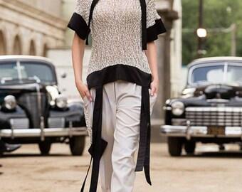 A knitted tunic DiaCheli