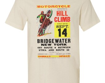 Motorcycle Hill Climb Tshirt