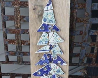 Tumbled Polish Pottery Tree