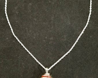 Valentine Red Sea Glass Necklace