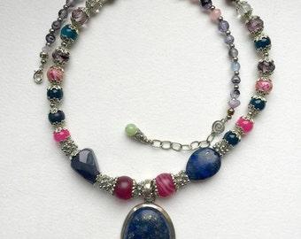 Necklace ''Blue Magic''
