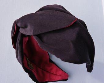 Headband Silk Heart