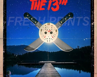Friday the 13th A3 Movie Poster