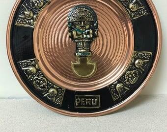 Peruvian Copper Plate PL-124