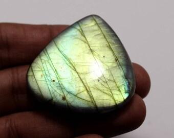 110.40cts Natural Multi flash Labradorite Heart 41X39X8 mm  Labradorite loose gemstone amazing & beautifull Labradorite nice flash AA-63