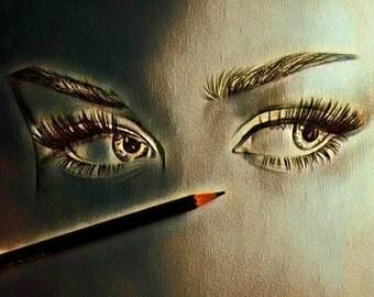 Eyes of Miriam Magdalene