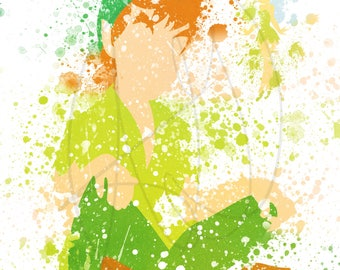 Peter Pan Inspired Digital Painting