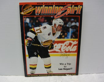 Vancouver Canucks Winning Spirit Magazine