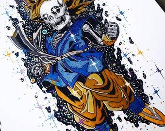 Kid Goku Super Saiyan, Edition 1