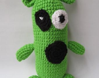Crochet Monster/ Stuffed Monster/ Monster Toy