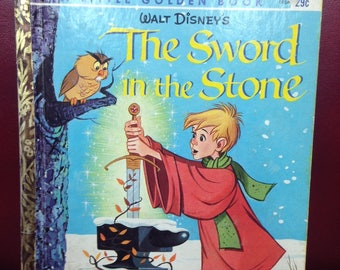 The Sword in the Stone.  A Little Golden Book