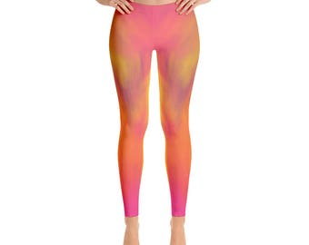 Women's  Color-Leggings,Beautiful Pattern leggings, full printed, Printful, USA,Made for you, Modern,Trendy Design store,