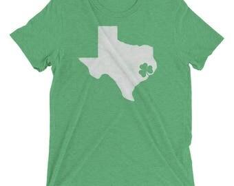 Texan Irish Pride Short sleeve St. Patrick's Day t-shirt