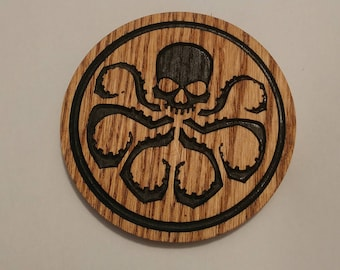 Set of Four Marvel Hydra Coasters