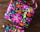 Custom Order for Alyssa - Traverse Crossbody Bag  and Wristlet Wallet