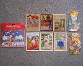 VINTAGE Mary Engelbreit Gift Tags and Lucy and Me Teddy Bear Gift Tags - from 1980s & 1990s