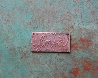 Love 2 / Etched Copper - Original Drawings on Copper