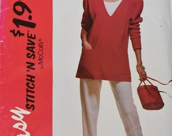 Vintage 1992 McCall's Easy 6092 Size B (unused)