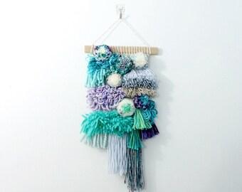 swell    .. wall hanging, weave, woven, wall art, wall decor, nursery art decor, home, living wall art,