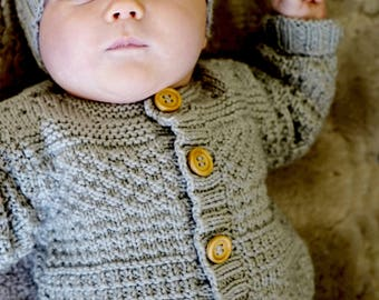Austin Cardi and Beanie - Baby Cakes by lisaFdesign - Bc64 - Download Now - Pattern PDF