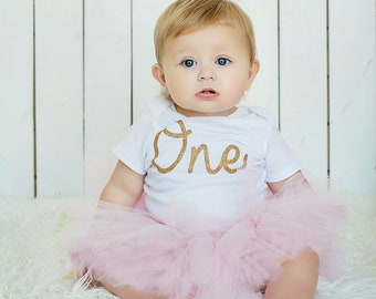First Birthday Outfit Girl Tutu Dress Skirt, Baby Tutu, Tulle Skirt, Baby Shower Gift, Baby Girl Coming Home Outfit, Cake Smash Outfit Girl