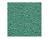 Miyuki Seed Bead Duracoat Galvanized Mint Green 11-4214 24g 11/0 Japanese Seed Bead, Dark Mint Green Seed Bead,  Rocaille Seed Bead