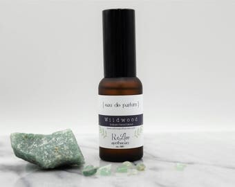 Parfum:  Wildwood - balsam forest blend- men/unisex- organic, vegan