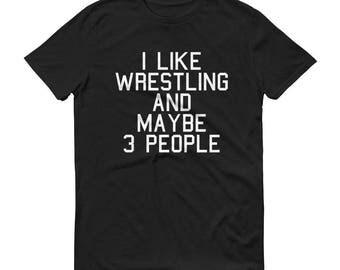 Wrestling Shirt Wrestling T Shirt Wrestling TShirt Wrestling Gift Wrestling Gifts Wrestling Mom Varsity Wrestling Wrestling Team Shir