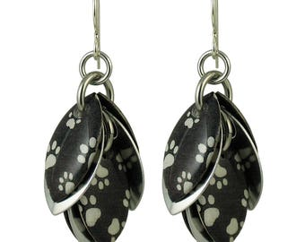 Puppy Paws Petals to the Metal Earrings