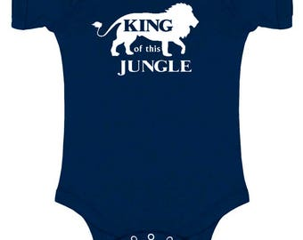 King of This Jungle Baby Bodysuit