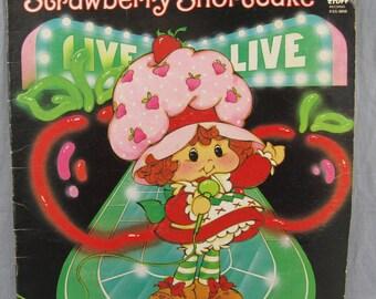 "Strawberry Shortcake Live Record Vintage 12"" Vinyl LP Album 1980"