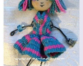 Inkle Woven Darling Little Dolls PDF Pattern
