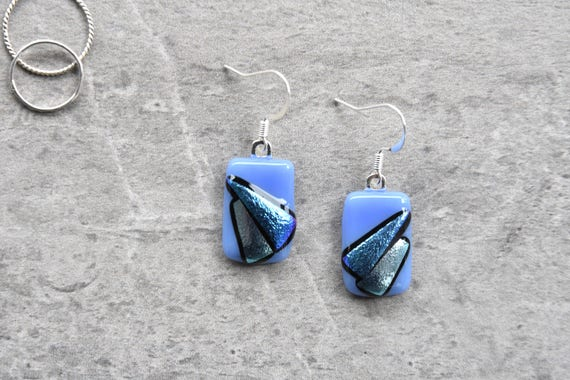 Periwinkle and Silver Edg...