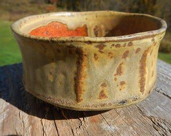 Rocky Mountain Wood Fired Chawan on sale by Split-Fire Pottery
